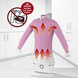 CLEANmaxx Automatischer Hemdenbügler | Trocknet und glättet Hemden & Blusen und ersetzt Bügeleisen oder Dampfbügelstation | Automatische Bügelstation auch zum Auffrischen Ihrer Kleidung