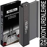 KLRStec Profi Konturenlehre 2.0 – Hochwertiger Formzeichner zum übertragen von Profilen – Contour Gauge mit extra grossem Messbereich (73x260mm)