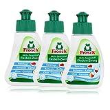 3x Frosch Aktiv-Sauerstoff Fleck-Entferner 75 ml - Flecklösend mit Aktiv-Sauerstoff