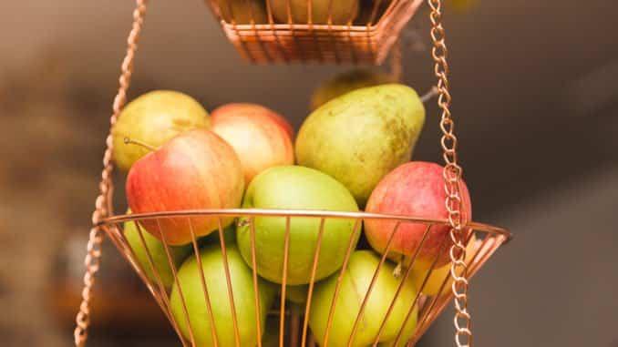 Obstkorb hängend