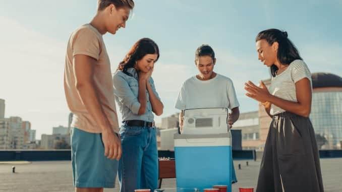 Elektrische Kühlbox für unterwegs