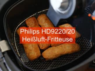 Philips HD9220/20 Heißluft Friteuse