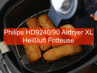 Philips HD9240/90 Airfryer XL Heißluft Friteuse