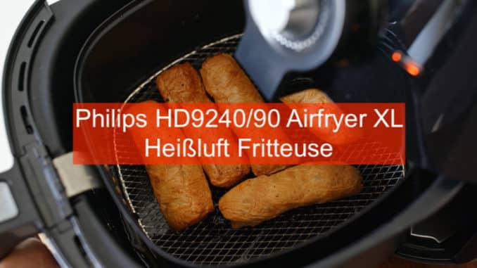 Philips HD9240/90 Airfryer XL Heißluft Friteuse