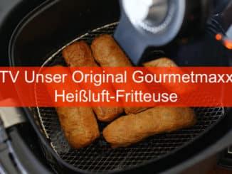 TV Unser Original Gourmetmaxx Heissluft Friteuse