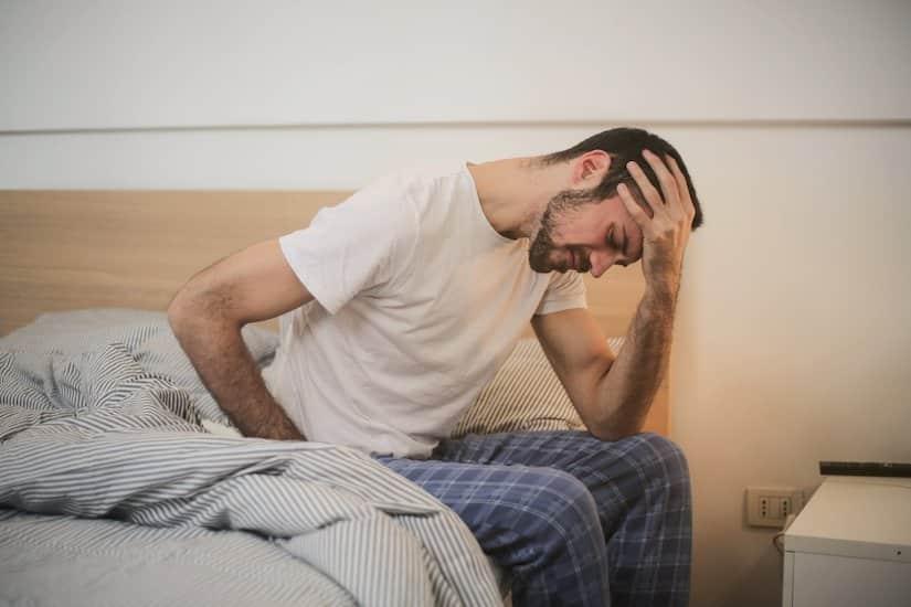 Bei schlechtem Schlaf kann eine Gewichtsdecke helfen