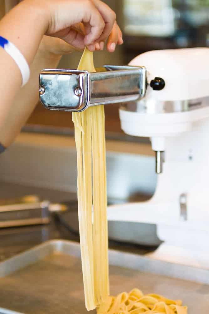 Nudelmaschine elektrisch für Spaghetti
