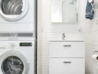 Verbindungsrahmen Waschmaschine Trockner