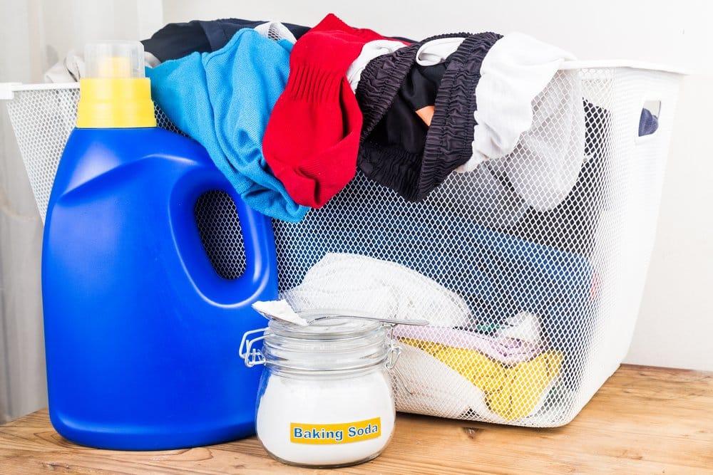 Backsoda als Waschsoda verwendet