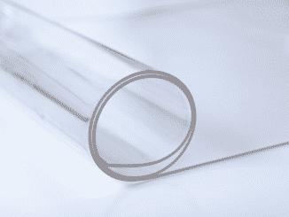 Transparente Tischschutzfolie