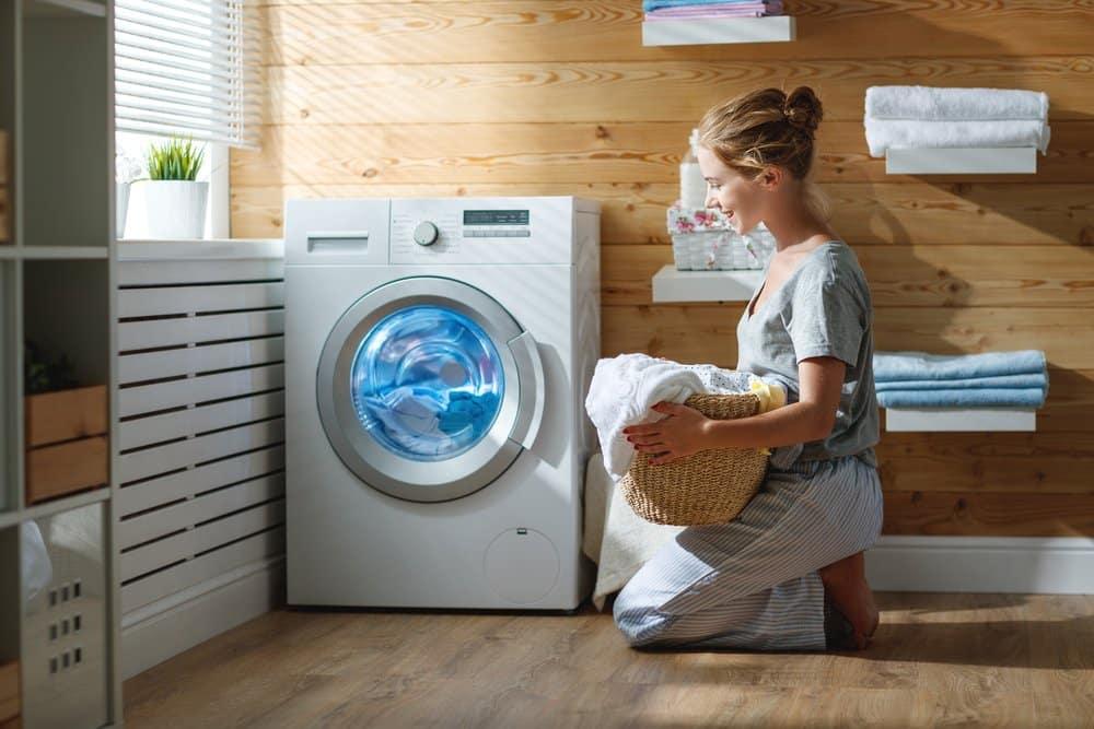 Waschmaschine ohne Sockel