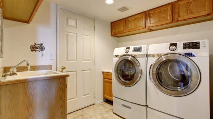 Waschmaschinenunterschrank