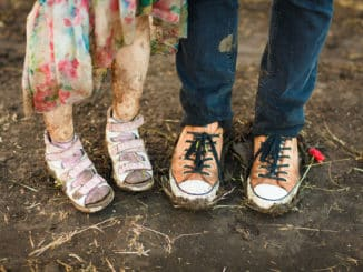 Bei dreckigen und nassen Schuhen lohnt sich eine Schuhabtropfschale