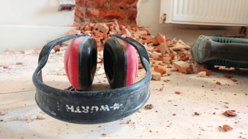 Gehörschutz um das Hörvermögen zu schützen
